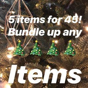 Other - 5 item bundle for $45